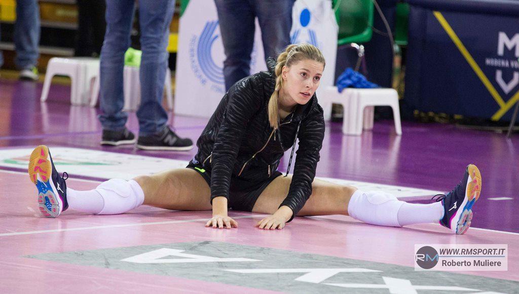 Pallavolo A1 femminile – Laura Heyrman a meno 4 da gara 1