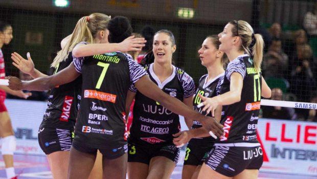 para justificar llenar Atajos  Pallavolo A1 femminile – Liu Jo Nordmeccanica Modena, vittoria di squadra  sui resti della Foppa – iVolley Magazine