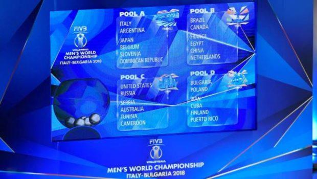 Calendario Mondiali Pallavolo.Pallavolo Mondiale Maschile Il Calendario Completo Della